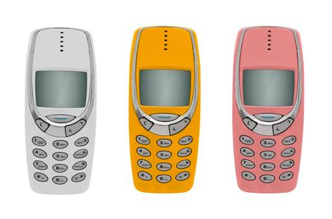 Реплика мобильного ретро-телефона Nokia 3310