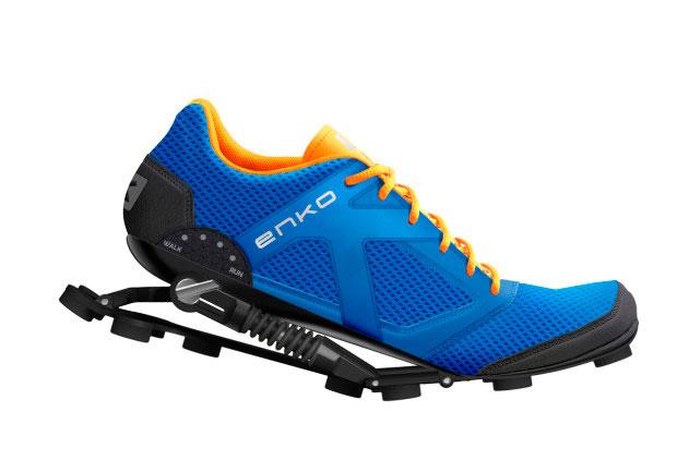 Enko - беговые кроссовки с адаптивной подвеской