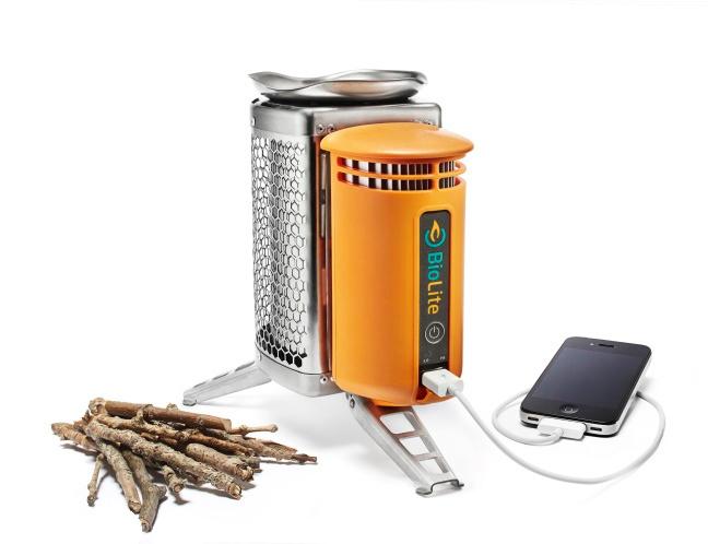 BioLite CampStove - портативная электростанция, работающая на... дровах